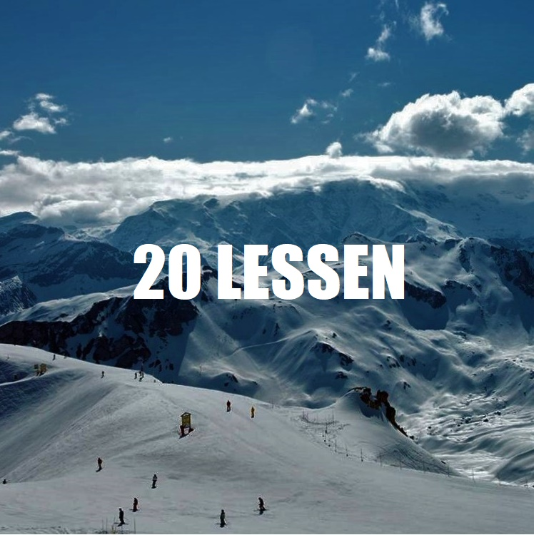 20 Lessen