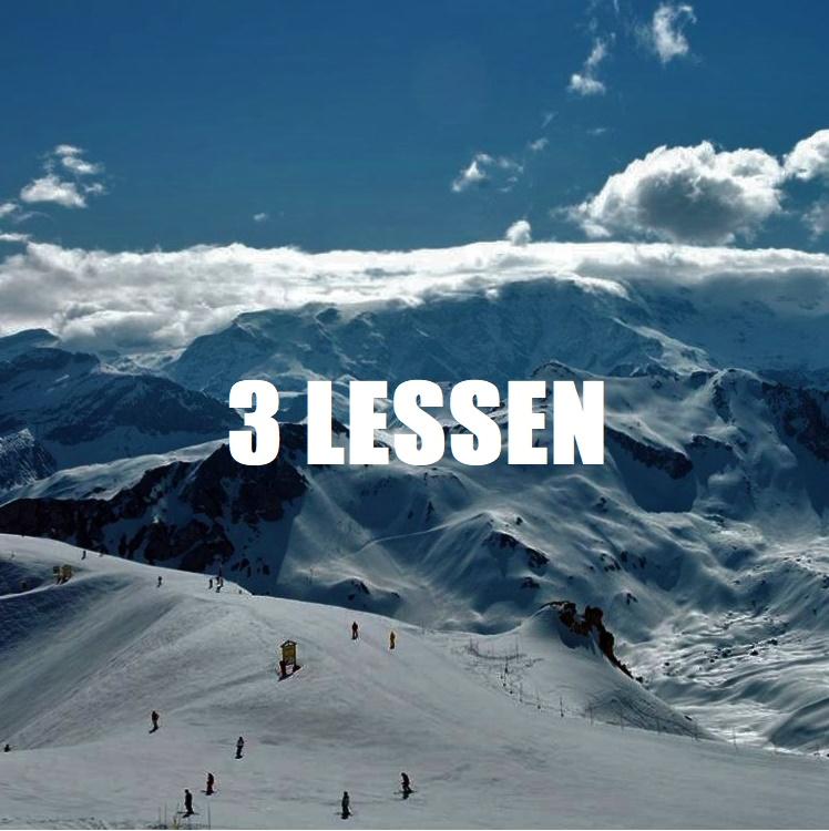 3 Lessen