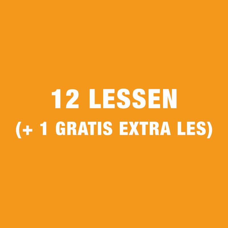 12 Lessen Gezinscursus (+ 1 Gratis Extra Les)