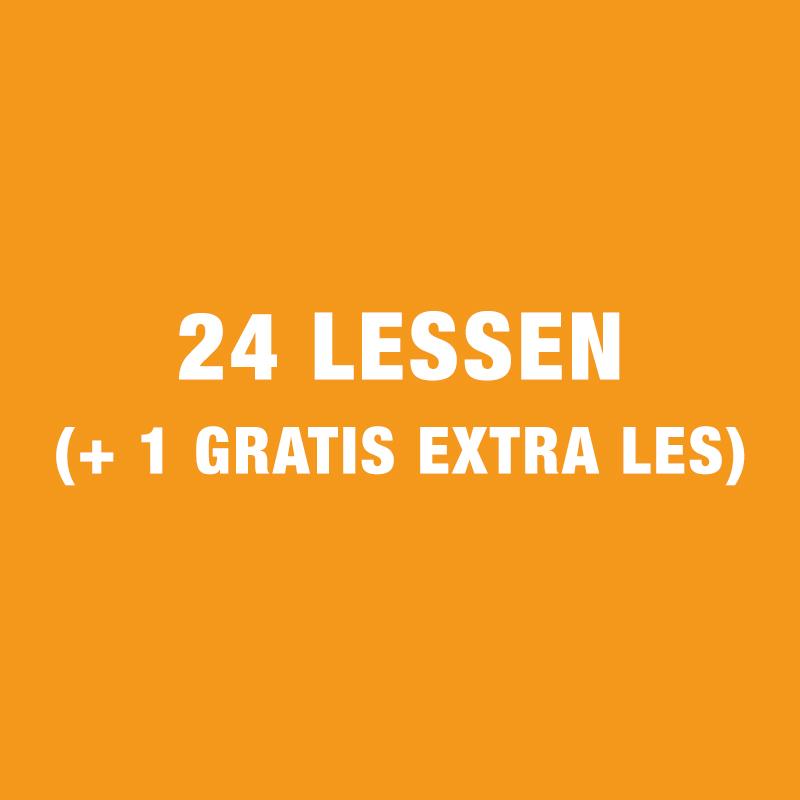 24 Lessen Gezinscursus (+ 1 Gratis Extra Les)