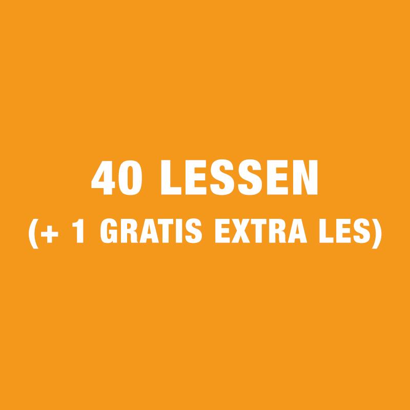 40 Lessen Gezinscursus (+ 1 Gratis Extra Les)